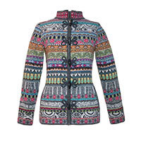Kooi Xenia Strickjacke anthrazit Gr.38