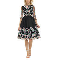 Chi Chi Caitlyn dress black M-XL