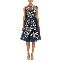 Chi Chi Laine dress navy XS-S