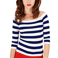 Collectif Marina Pullover navy