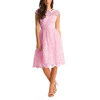 Chi Chi Macie dress fairytale pink S-M