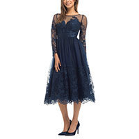 Chi Chi Hadley dress navy S