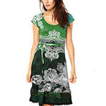 Desigual Paris dress verde M