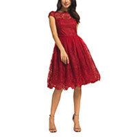Chi Chi Dione Kleid rot XS