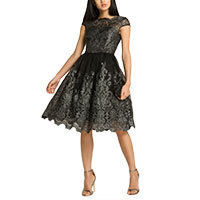 Chi Chi Katy dress black-silver L