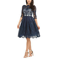 Chi Chi Diane dress navy M or XL