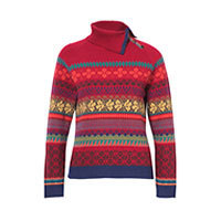 Ivko Roll Neck Pullover cherry (72630) Gr.38-44
