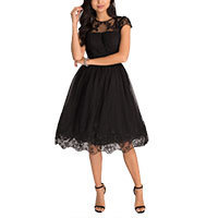 Chi Chi Nigella dress black