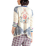 Ivko Cardigan Embroidery off-white (81610) Gr.38-44