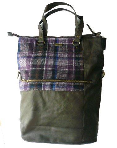 desigual tasche scotish ibiz shopper braun von 69 90. Black Bedroom Furniture Sets. Home Design Ideas