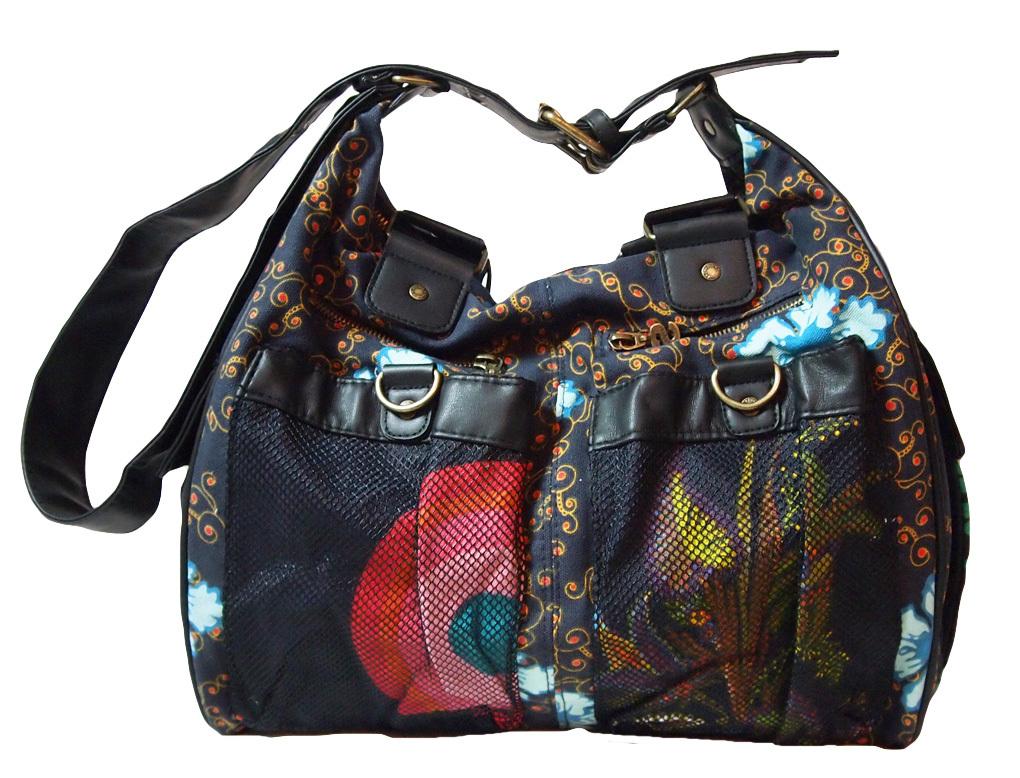 desigual bols victoria tasche blau wei born2style fashion store. Black Bedroom Furniture Sets. Home Design Ideas