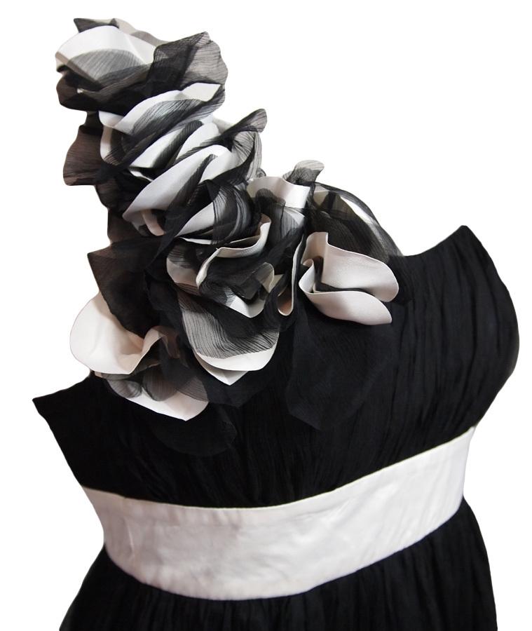 details zu h bscher schwarz wei h kel neckholder monokini bikini. Black Bedroom Furniture Sets. Home Design Ideas