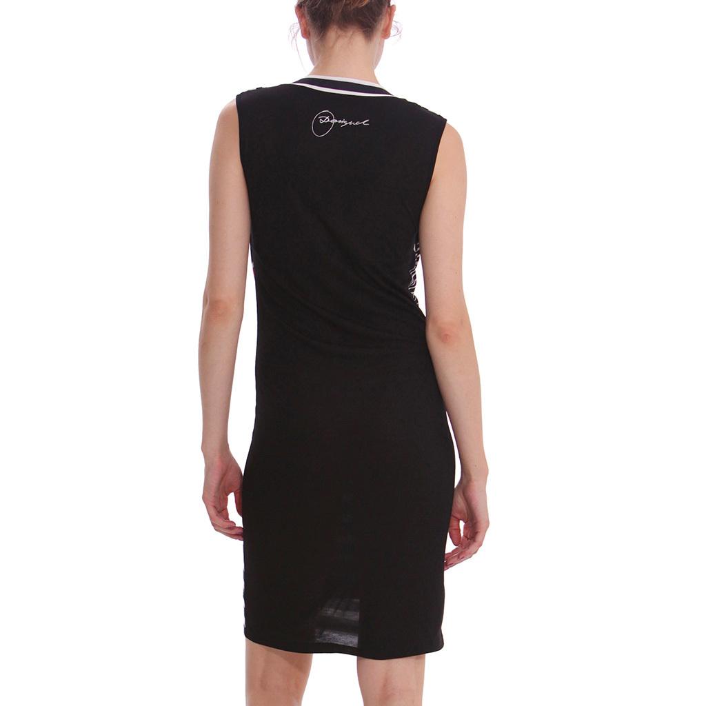 %Desigual Mista Kleid schwarz Gr. M-L | eBay