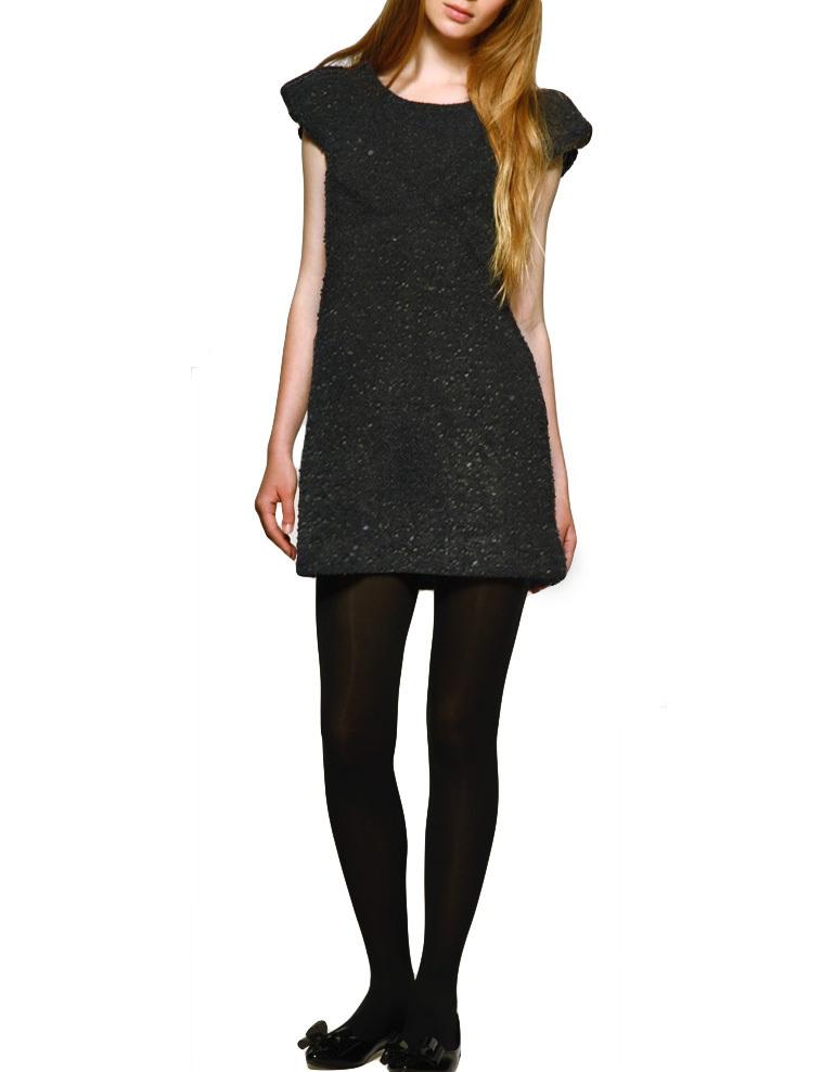 Yumi Sparkel Bubble Kleid schwarz S/M - Born2Style Fashion ...