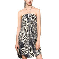 Mina Escapade dress Animal print S