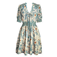 Darling Eva Kleid teal blau M