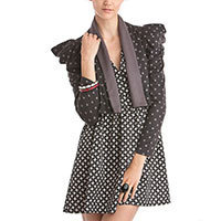 Mina Symbol dots jacket grey M