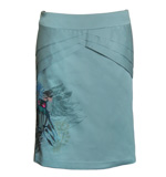St-Martins Gertha owl skirt blue S