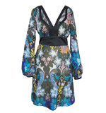 St-Martins Nomi Flower dress blue M/L