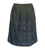 Darling Anya skirt Marl grey