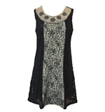 Yumi Cara dress lace black XS-S