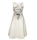 Fever London Emilia Kleid creme weiß XS