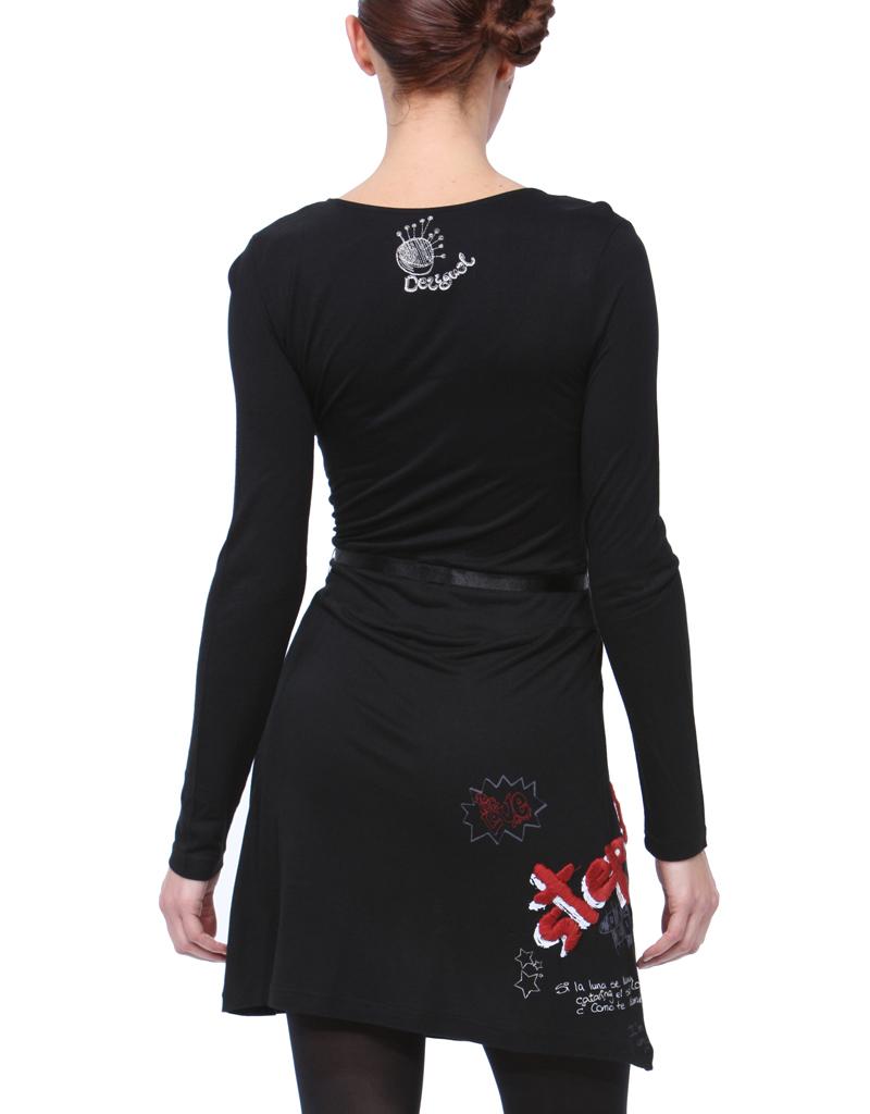 Desigual Pisa Kleid schwarz L - Born2Style Fashion Store