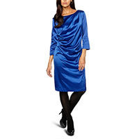 St-Martins Karen Cocktailkleid surf the web blau XS
