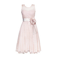 Fever London Jasmina Kleid nude M/L