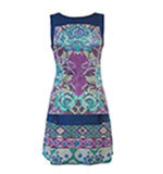 Surkana Sveta dress azul blue S/M