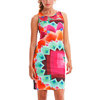 Desigual Margaret Kleid virtual S/M