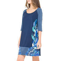Surkana Milla dress azul blue M-L