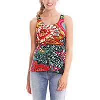 Desigual TS Anne Top simply green S