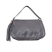 La Vie Michelle leather bag grey