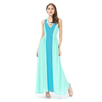 Ocean Breeze  Maxi dress blue