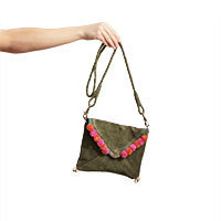 Nice Things Sobre Tasche fantasia verde