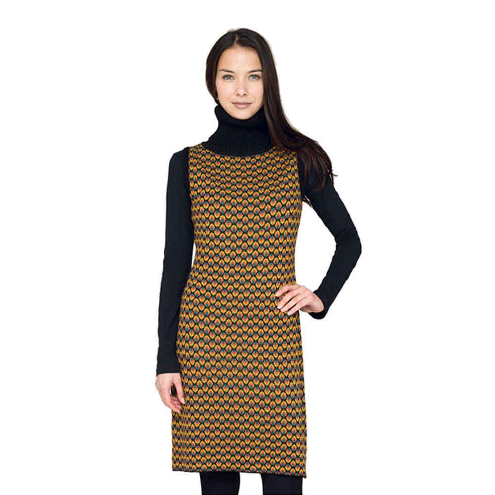 Surkana Resu Kleid Rollkragen Schwarz L Xl Born2style Fashion Store