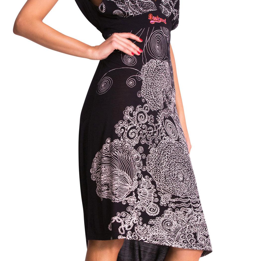 Desigual Quita Kleid schwarz S/M - Born2Style Fashion Store