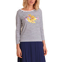 Nice Things Tennis Fish jumper S