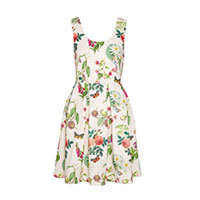 Yumi Botanical Posies dress off-white S