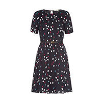 Yumi Uttam Trio Lapin rabbit dress black S
