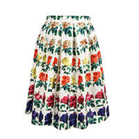 Rose Botanica skirt white XS-M