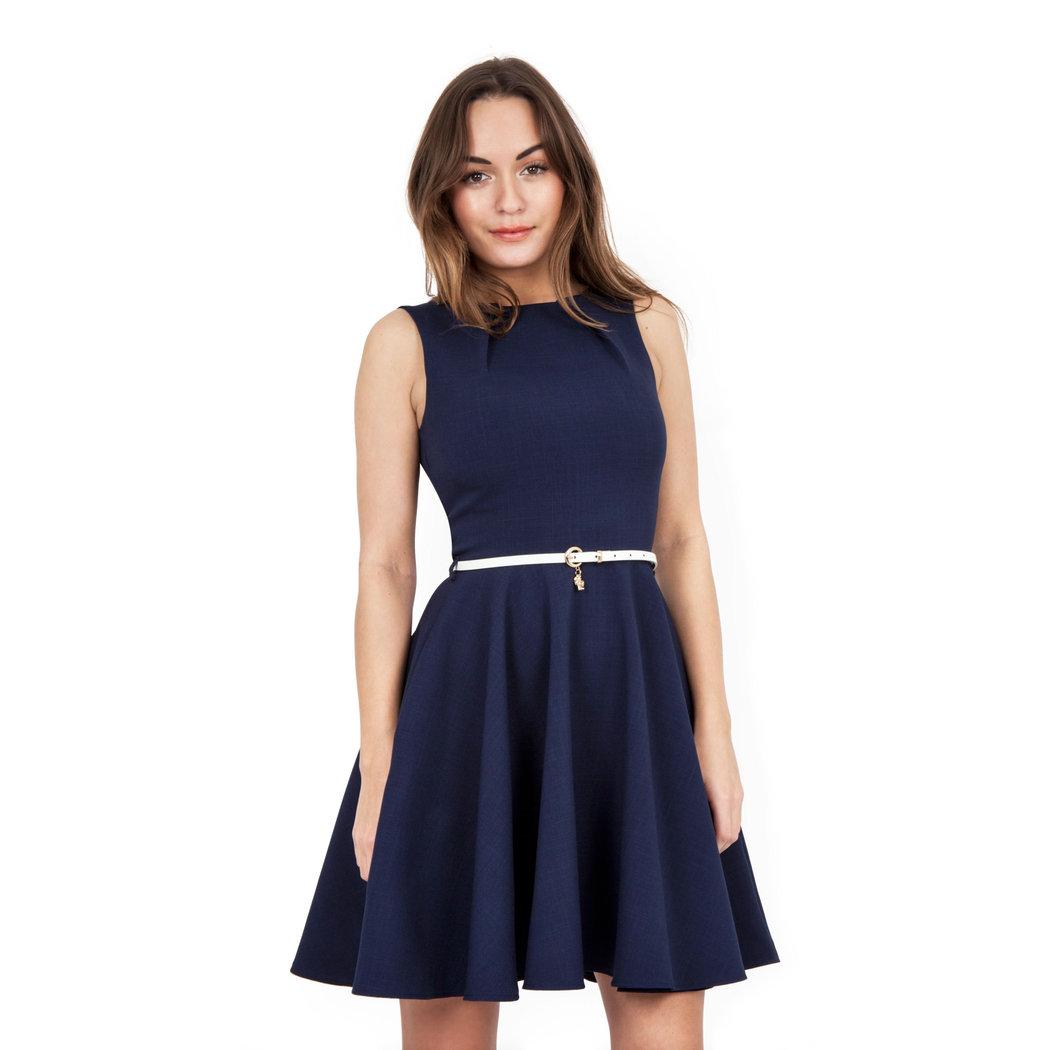 Closet Bloomsbury Kleid blau XL - Born2Style Fashion Store