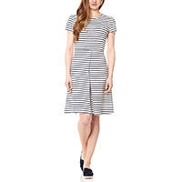 Fever London Sienna dress navy S