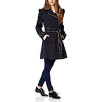 Fever London Conwy Trenchcoat schwarz M