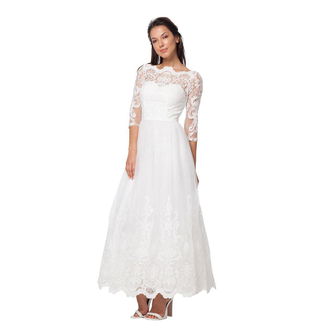 Chi Chi Tamara lace dress white XS - Born11Style Fashion Store