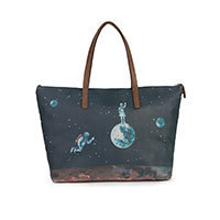 Nice Things Space Moonwalk Print bag