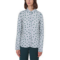 Nice Things Frogs Print blouse grey L