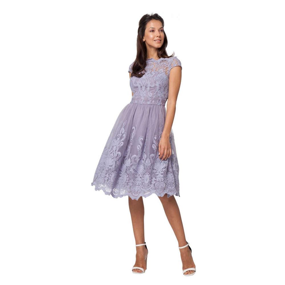 Chi Chi Nia dress dusky violet XL   Born9Style Fashion Store