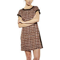 Lavand Mathilde dress brown M-XL